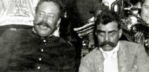 Pancho Villa and Emiliano Zapata by Paul Garland