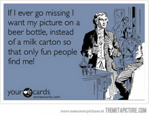 funny quote missing milk carton