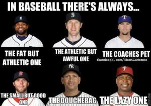 The Many Characters Of Baseball Meme
