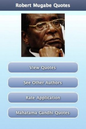 View bigger - Robert Mugabe Quotes for Android screenshot