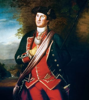 Portrait of George Washington (1732- 1799)