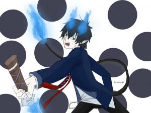 Rin Okumura Blue Exorcist Mici