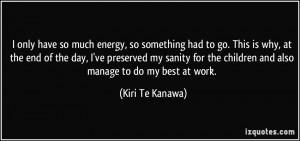 More Kiri Te Kanawa Quotes