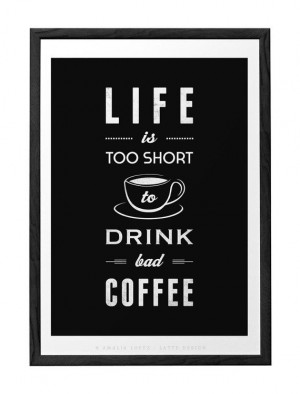 ... Drinks Bad, Quotes Prints, Coffee Quotes, Prints Retro, Prints