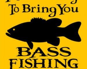 BASS FISHING SIGN 9