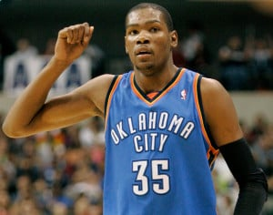 Kevin Durant's photo.