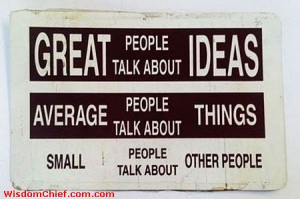 Very Nice Great People Sign Quote That's Fully True Cute Picture