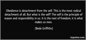 More Bede Griffiths Quotes