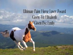 Paint Horse Quotes http://stallionandmare.blogspot.com/2009/11/my ...