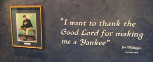 Joe DiMaggio Quote