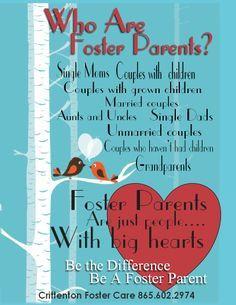 Foster parents.