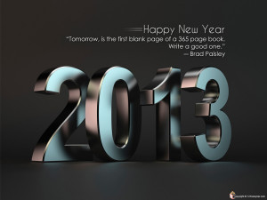 Things You Can Do to Start 2013 off Right