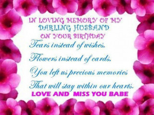 Remembering a lost loved one on their birthday quotes