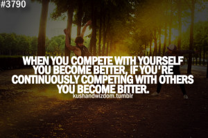 Competition Quotes - Competitive - Sports - Winning - Quote Picture