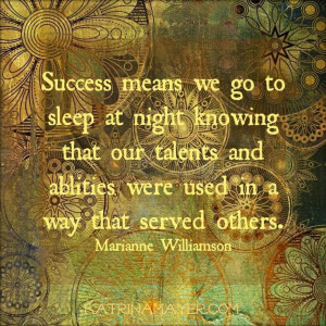 Success quote via www.KatrinaMayer.com