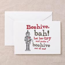 Tin Man Beehive Quote Greeting Cards (Pk of 20) for