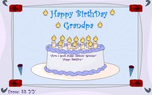 Happy Birthday in Heaven Grandpa Quotes