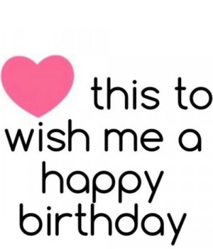 Happy Birthday to me wishes greetings images