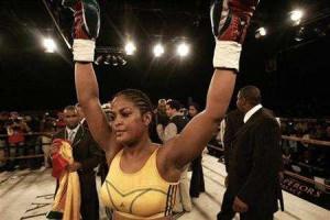 ... Ali, daughter of boxing legend Muhammad Ali and a champion pugilist in