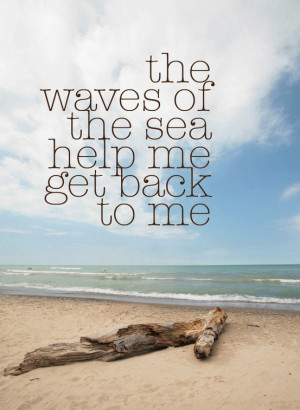 ... sentimental start to the morning i headed to the beach to soak up