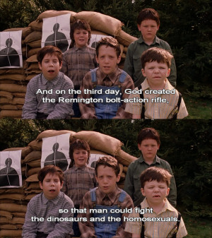 ... Children On God, Dinosaurs, & Homosexuals In Funny Mean Girls Quote