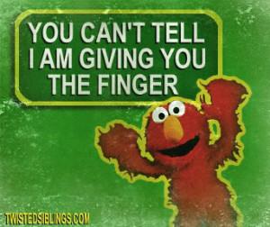 Funny Elmo Picture