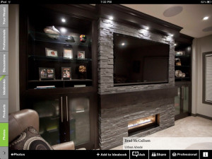 Gallery of Basement Fireplace Ideas