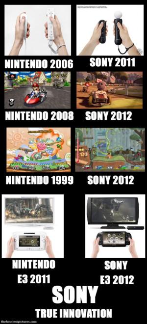 Seems like Sony steals a few ideas from Nintendo