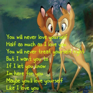 Bambi Quotes And Sayings Aww