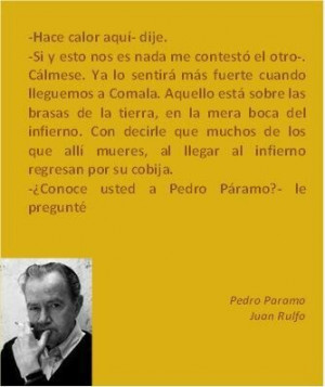 Pedro Paramo. Juan Rulfo