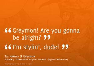 "... & Tentomon, episode 2 ""The Birth of Greymon"" (Digimon Adventure"