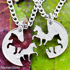 Horse Quotes About Friendship Horse necklaces, cowgirl best