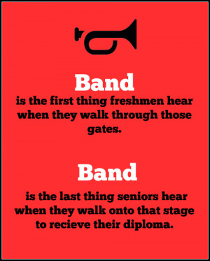 ve paraphrased what my band director had told us in response to ...