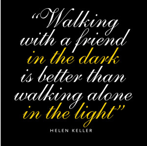 ... Quotes About Life Tagged With: Breast Cancer , FBC , Helen Keller