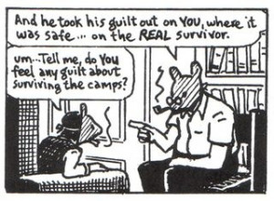 On Survivors Guilt. Here Artie reverts to a childlike state as he ...