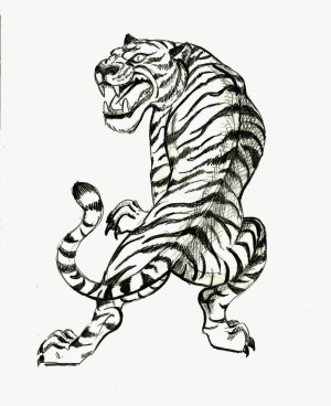 Japanese Tiger Tattoo Inside Of Arm Gangster Quotes The Picture