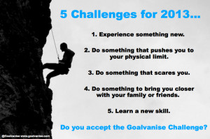 Challenges For 2013 - Challenge Quotes