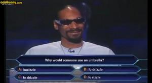 snoop dogg millionaire random