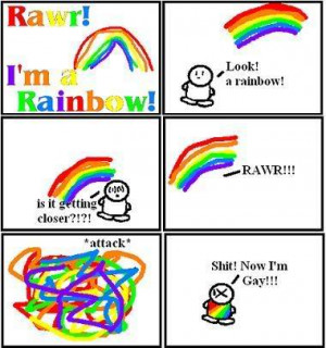 stick figures :: gay rainbow!!! picture by PSSt_iloveyou_3 ...