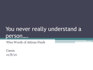 atticus finch quotes with page numbers
