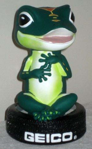 GEICO Gecko Novelty Plastic Piggy Bank 9 Inch Money Coin Tire Lizard ...