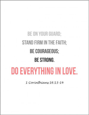Bible verses on love Corinthians
