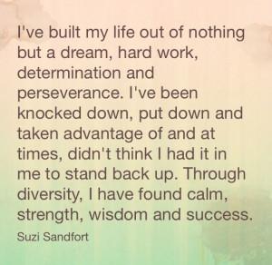 Hard Work Determination Quotes