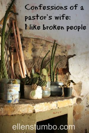 Broken People And i like broken people