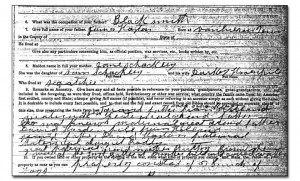 Samuel Schockley Haston Civil War Questionnaire - Family & Ancestry ...
