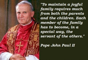 Pope john paul ii famous quotes 5