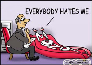 every monday morning its the same thing people grumbling that monday ...
