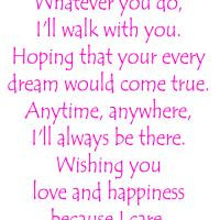 Because I Care About You Quotes