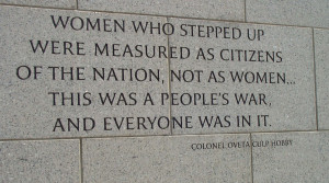 Inspiring Words Grace World War II Memorial Walls