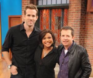 Ryan Reynolds and MJ Fox on Rachael Ray